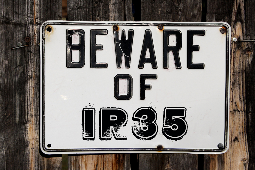 Importance of knowing what is IR35