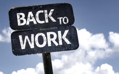 Returning back to work – The New Normal