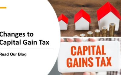 Changes to how you calculate and report Capital Gains
